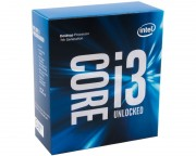 - Core i3-7350K 2-Core 4.2GHz Box
