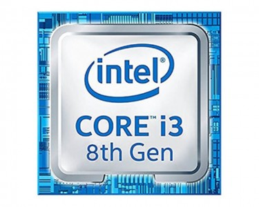 Core i3-8100 4-Core 3.6GHz tray