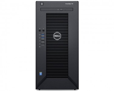 PowerEdge T30 Xeon E3-1225 v5 4C 1x8GB 1TB DVDRW 3yr NBD
