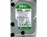"- 500GB 3.5"" SATA II 32MB IntelliPower WD5000AADS Caviar Green +"