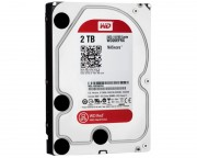 "- 2TB 3.5"" SATA III 64MB IntelliPower WD20EFRX Red"