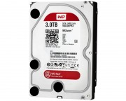 "- 3TB 3.5"" SATA III 64MB IntelliPower WD30EFRX Red"
