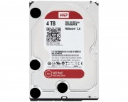 "- 4TB 3.5"" SATA III 64MB IntelliPower WD40EFRX Red"