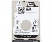 "- 500GB 2.5"" SATA III 32MB 7.200rpm WD5000LPLX Black"