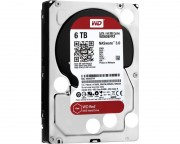 "- 6TB 3.5"" SATA III 64MB IntelliPower WD60EFRX Red"