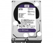 "- 6TB 3.5"" SATA III 64MB IntelliPower WD60PURZ Purple"