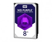 "- 8TB 3.5"" SATA III 256MB IntelliPower WD81PURZ Purple"