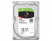 "- 6TB 3.5"" SATA III 256MB ST6000VN0033 IronWolf Guardian"