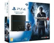 Konzole - PlayStation 4 1TB Bundle: Uncharted 4