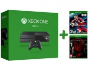 gamepad,joystick - Xbox One Console 1TB + PES 2015 + Metal Gear Solid 5 Phantom Pain