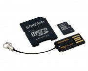 - MicroSDHC 16GB class 10 + adapter + USB Reader MBLY10G2/16GB