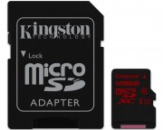 Kingston memorijske kartice - UHS-I U3 MicroSDXC 128GB + Adapter SDCA3/128GB