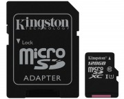 Kingston memorijske kartice - UHS-I MicroSDXC 128GB 80R class 10 SDCS/128GB + adapter