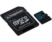 KINGSTON - UHS-I U3 MicroSDHC 32GB V30+ Adapter SDCG2/32GB Go