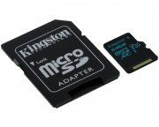 KINGSTON - UHS-I U3 MicroSDXC 64GB V30+ Adapter SDCG2/64GB Go