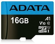 A-DATA - UHS-I MicroSDHC 16GB class 10 + adapter AUSDH16GUICL10A1-RA1