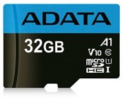 - UHS-I MicroSDHC 32GB class 10 + adapter AUSDH32GUICL10A1-RA1