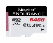 KINGSTON - UHS-I microSDXC 64GB C10 A1 Endurance SDCE/64GB