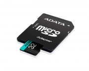 A-DATA - UHS-I U3 MicroSDHC 32GB V30S class 10 + adapter AUSDH32GUI3V30SA2-RA1