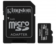 Kingston memorijske kartice - A1 MicroSDHC 16GB 100R class 10 SDCS2/16GB + adapter
