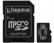 KINGSTON - A1 MicroSDHC 32GB 100R class 10 SDCS2/32GB + adapter