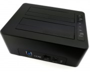 "- HDD dual Docking station USB 3.0, 2.5""/3.5"" K3082"