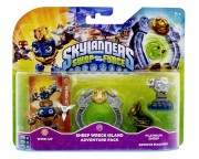 Skylanders - Skylanders: Swap Force - Sheep Wreck Island Adventure pakovanje #2: Wind up, Sheep Wreck, Platinum Sheep, Groove Machine