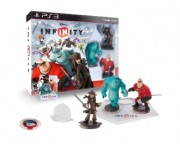 - Infinity Starter Pack (Jack Sparrow+Mr.Incredible+Sulley+Game+Playset Piece+Power Disc) PS3