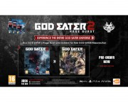PlayStation igre - God Eater Resurrection - God Eater 2: Rage Burst PS4