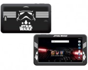 "- Themed Star wars 7"" 4-Core 1.2GHz 512MB 8GB Android 5.1 bela (ES-THEMED-7-SWARS)"
