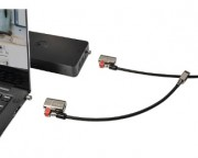 - Twin Clicksafe lock for All Dell Security slots