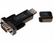 - Adapter USB 2.0 tip A (M) - Serijski port (RS-232) 9pin (M) crni DA-70156