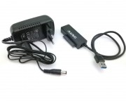 "- Adapter USB 3.0 to SATA za 2.5""/3.5""/5.25"" HDD/ODD K10435A"