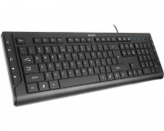 A4 TECH - KD-600 X-Slim Multimedia USB YU crna tastatura