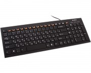 A4 TECH - KX-100 X-Slim USB US crna tastatura