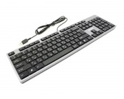 A4 TECH - KD-300 X-Slim USB US crna tastatura