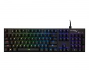 - HX-KB1SS2-US HyperX Alloy FPS RGB Mechanical Gaming Keyboard, Silver Speed