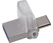 KINGSTON - 32GB DataTraveler MicroDuo 3C USB 3.1 flash DTDUO3C/32GB srebrni